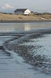 Scène de plage du Nouvelle-Zélande images stock