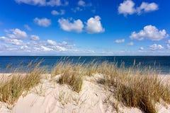 Scène de plage - Sylt Hoernum Images stock