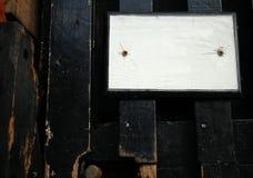 Scène de plaque de rue Images stock