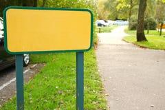 Scène de plaque de rue Photo stock