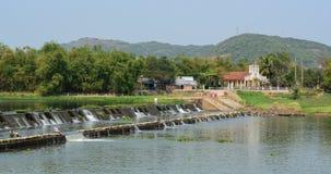 Scène de rivière dans Phu Yen, Vietnam Image stock