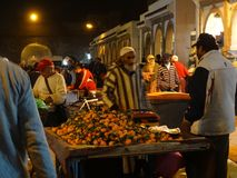 Scène de rue d'Essaouira la Médina, Maroc Image stock