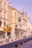 Scène de rue de Cannes images libres de droits