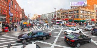 Scène de rue de Harlem Photographie stock