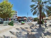 Scène de rue de la ville de Nazareth Image stock