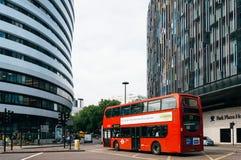 Scène de rue de Londres Photographie stock