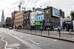 Scène de rue de Londres Photos stock