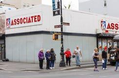 Scène de rue de Manhattan Photos stock