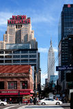 Scène de rue de New York Photographie stock