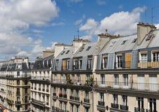 Scène de rue de Paris, quart latin Image libre de droits