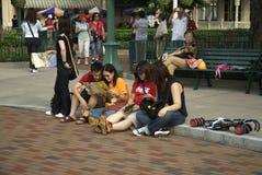 Scène de rue de Hong Kong image stock