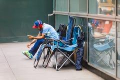 Scène de rue de Manhattan photographie stock
