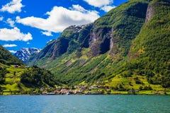 Scène de Sognefjord Photographie stock libre de droits