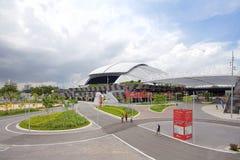 Scène de stade de ressortissant de Singapour Images libres de droits