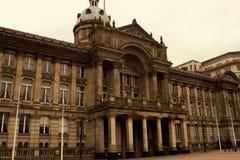 Scène in de stadscentrum van Birmingham royalty-vrije stock foto's