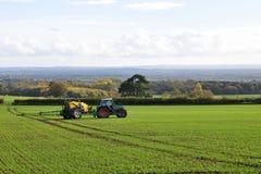 Scène de terres cultivables photographie stock