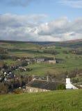 Scène de vallées de Yorkshire Image libre de droits