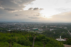 Scène de ville de Hatyai Thaïlande images libres de droits