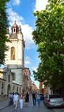 Scène de ville de Lviv (Ukraine). 10 MAI 2012 Image libre de droits