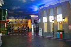 Scène de ville rêveuse d'arche Photos stock