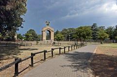 Scène de zoo de Johannesburg image stock