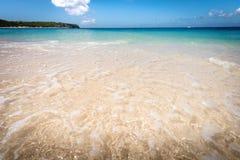 Scène des Caraïbes de plage photo stock