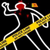 Scène du crime Photos libres de droits