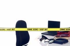 Scène du crime de CSI photo libre de droits