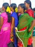 Scène du marché, Inde Photo libre de droits