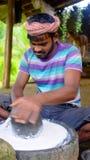 Scène du marché, Inde Photos libres de droits