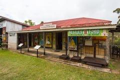 Scène historique de village de Herberton Image stock