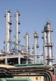 scène industrielle de raffinerie images libres de droits