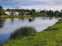 Scène irlandaise de fleuve Image libre de droits