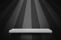 Scène ou fond noire de texture Image stock