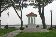 Scène paisible de Lisbonne Photographie stock