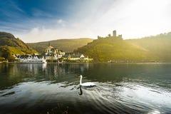 Scène rêveuse de la Moselle images stock