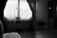 Scène-ruimte-venster-0001 Stock Afbeeldingen