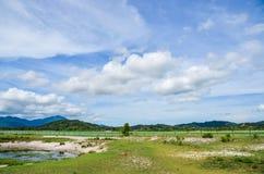 Scène rurale d'île de Langkawi, Malaisie images libres de droits