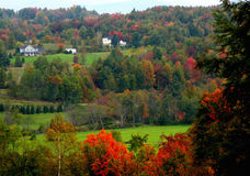 Scène rurale dans l'automne Photographie stock libre de droits
