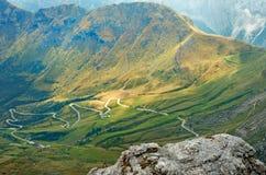 Scène rurale des montagnes aux dolomites Image stock