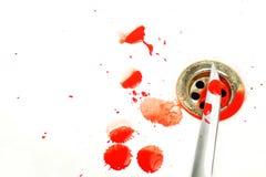 scène sanglante Photographie stock