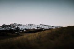 Scène simple de montagne Images stock