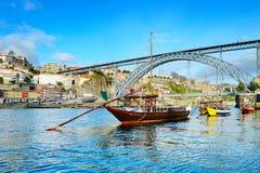 Scène traditionnelle de Porto, Portugal Photo stock