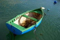 Scène tranquille à la mer Méditerranée Photos stock