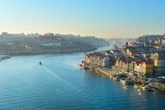 Scène typique de Porto, Portugal Images libres de droits