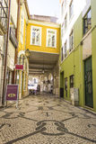 Scène urbaine à Aveiro, Portugal Photographie stock libre de droits