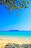 Scène van eiland in Thailand Stock Fotografie