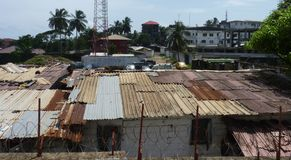 Scène van Liberia Stock Fotografie