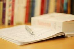 Scène van Studie stock fotografie