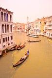 Scène van Venetië, Italië Royalty-vrije Stock Foto's